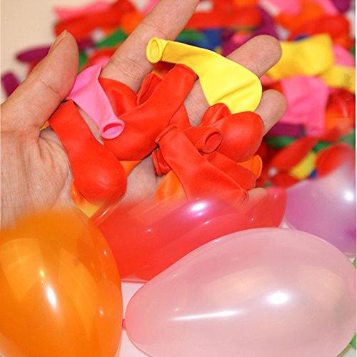 Palloncini Party allone all Aria Aperta con 500 Palloncini Palloncini Mega Pack Colorati Cliff.l Palloncini a Forma di Bombe d Acqua