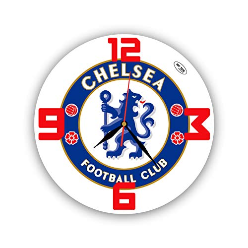 Gift Shop Exclusive Wall Clock Chelsea 11 Inch - Unique Item for Home and Office, Original Present for Every Occasion. Handmade. Plastic (Acrylic Glass)