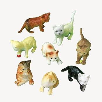 Amazon.com: cifras de 12 mini de plástico perro/perrito ...
