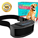 Bark Solution The Original Dog Collar Training System, Electric No Bark Shock Control with 7 Adjustable Sensitivity & Manual