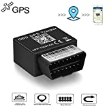 TKSTAR OBD GPS Tracker for Vehicles,Worldwide Realtime GSM AT&T Tracking Device Directly Plug Free Tracking Platform&APP
