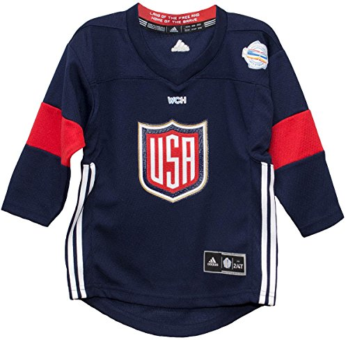 World Cup of Hockey 2016 Navy Child Printed Jersey (Child 4/7)