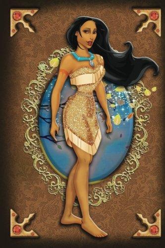 Pocahontas - Disney Princess Fairytale Designer Journal Notebook: Disney Princess Lined Journal A4 Notebook, for school, home, or work, 150 Pages, 6' x 9' (15.24 x 22.86 cm), Durable Soft Cover