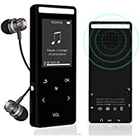 Bluetooth MP3 Player ,Newiy Start 8GB Lossless Sound Music Player Build-in Speaker Portable Touch Button Audio Player With FM Radio/Voice Recorder (Expandable UP to 64GB)