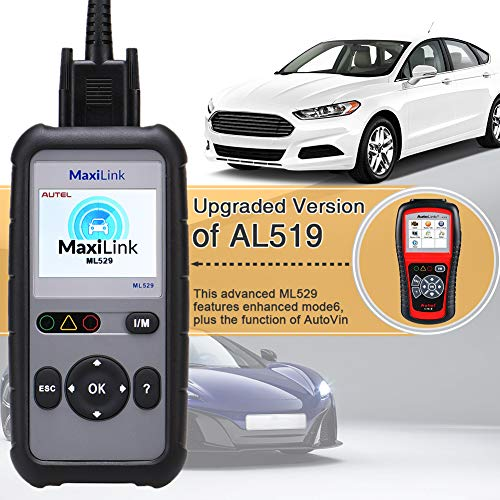 Autel OBD2 Scanner Maxilink ML529 Check Engine Code Reader with Full OBD2 Functions for Turning off Car Check Engine Light by Autel (Image #4)