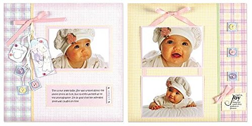 Almost Done Scrapbooking (Hot Off The Press - Almost Done Page Kits - Baby Girl)