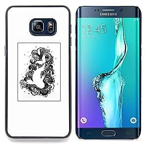 """Planetar ( Símbolos Religión Arte Secreto"""" ) Samsung Galaxy S6 Edge Plus / S6 Edge+ G928 Fundas Cover Cubre Hard Case Cover"""