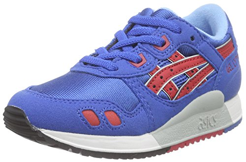 ASICS - Gel-lyte Iii Ps, Zapatillas Niños Azul (classic Blue/classic Red 4223)