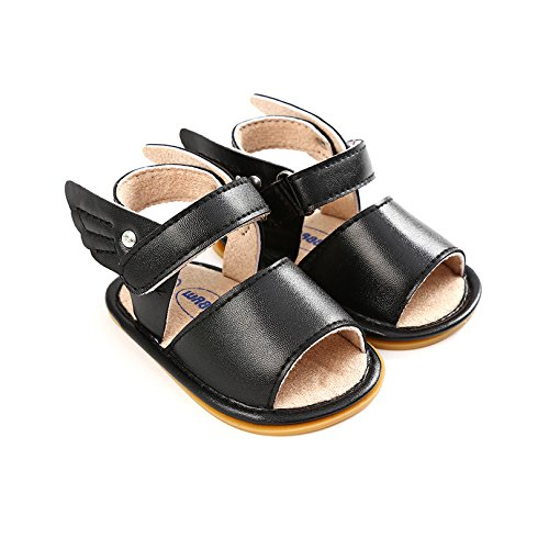 CoKate Baby Shoes Baby Boys Girls Soft Rubber Sole Wings Summer Sandals Toddler First Walk Shoes