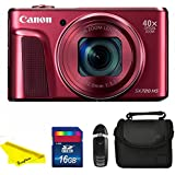 Canon Powershot SX720 Red BuzPhoto Accessory Kit