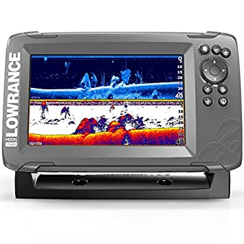 Lowrance HOOK2 7 – 7-inch Fish Finder with SplitShot Transducer and US Canada Navionics Map Card