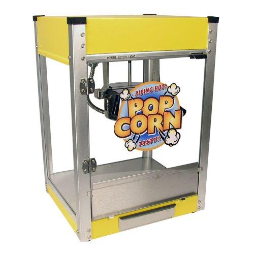Cineplex-4 Popcorn Machine (Yellow, 4-Ounce (Yellow Commercial Coat)