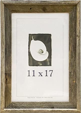 frame usa 17064 barnwood picture frames 11 x 17