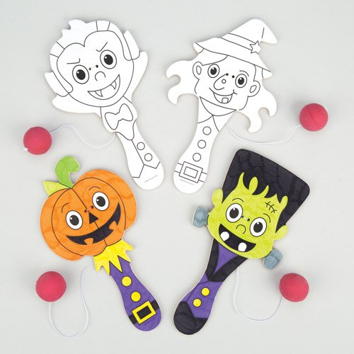 Halloween Colour-in Biff Bats For Kids Fun-Packed Halloween Toys At Pocket Money Prices - Perfect Party Bag Fillers For Children (Pack of (Ross Halloween Party)