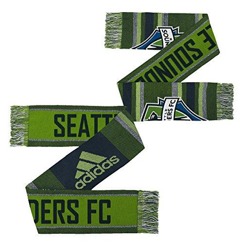 MLS Seattle Sounders FC Youth Boys Fan Scarf, 1 Size, Rave Green