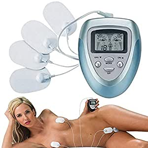 Female Breast Massager,Remote Control for Body Massage & Body Relaxation,Environmentally Friendly Material (Blue)