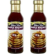 Walden farms Calorie Free Maple Walnut Syrup 12 oz ( 2 Pack )