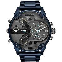 Relógio Diesel Masculino Brave Blue Azul Dz7414/1an