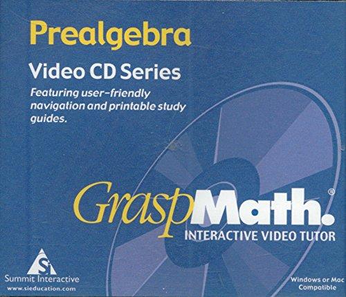 - GraspMath Interactive Video Tutor Prealgebra (4-CD set)