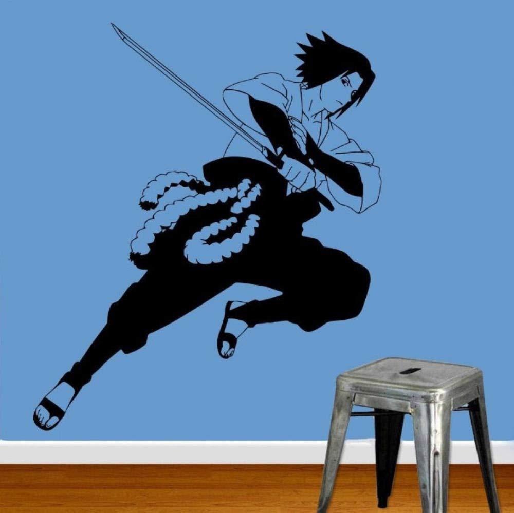 Pegatinas De Pared-Anime Manga Naruto Sasuke Vinilo Decorativo ...