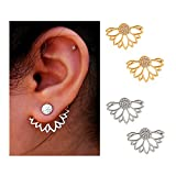 Amazon Price History for:Suyi Fashion Hollow Lotus Flower Earrings Crystal Simple Chic Stud Earrings Set