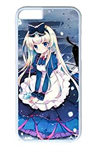 Anime Cute Girl 7 Hard Cover Case For Iphone 5c Cover PC White Cases