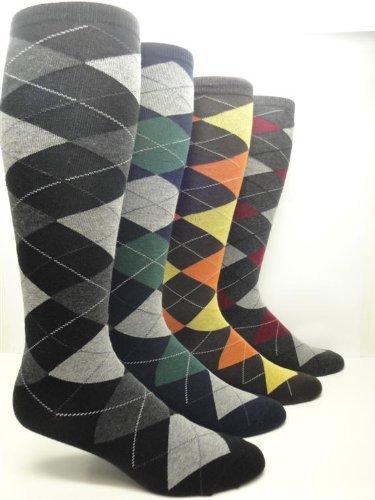 4cb6b62a6 Women s Argyle Cotton Crew   Knee-High Socks (Knee-High