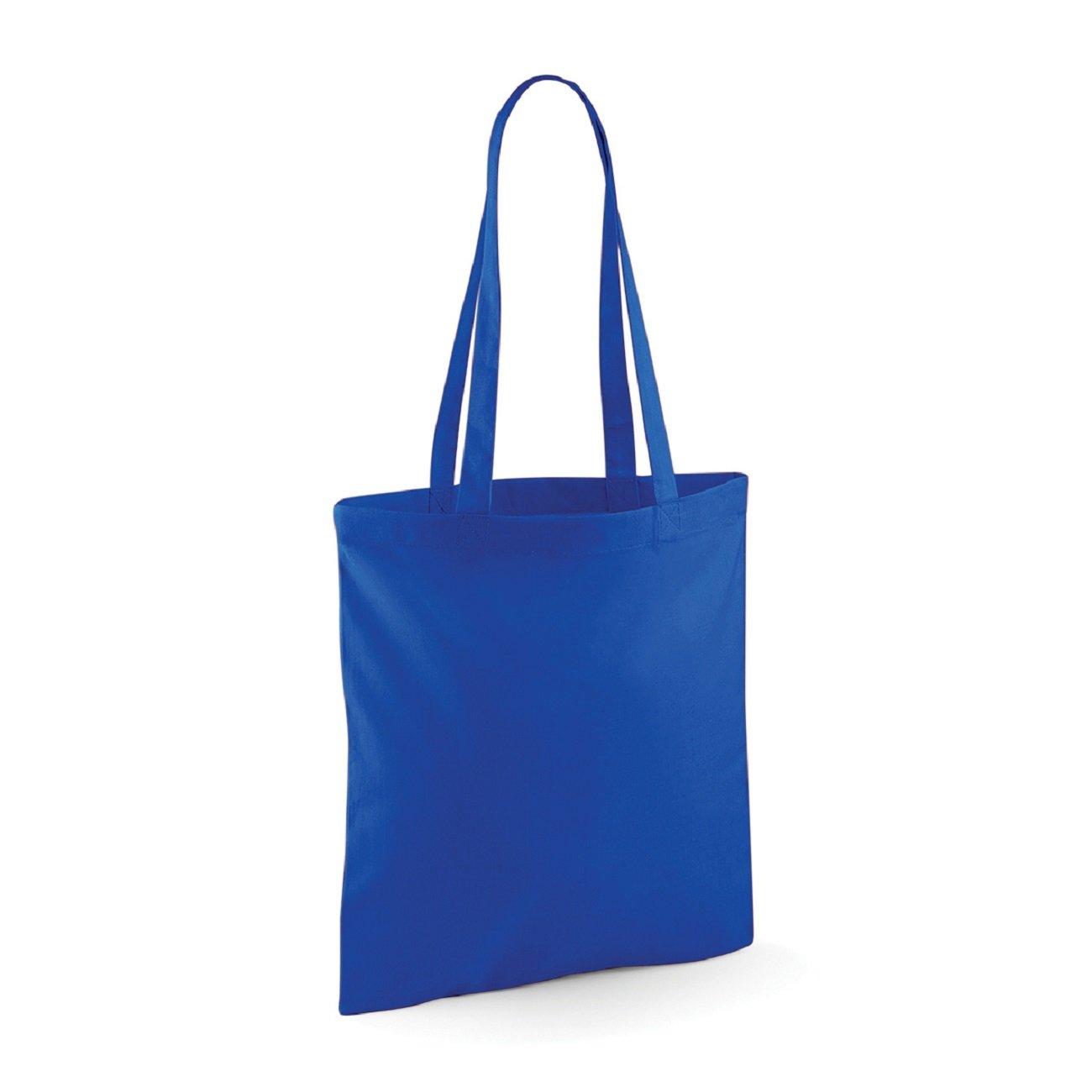 Westford Mill Baumwolle Einkaufstasche Schultertasche W101