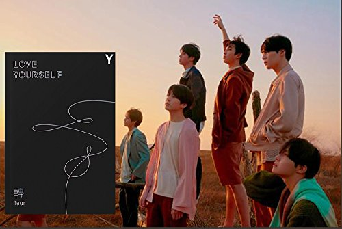 Price comparison product image Vol.3 BTS LOVE YOURSELF Tear 3rd Album [Y ver.] BANGTAN BOYS Music CD + Official Poster + Photo Book + Mini Book + Photo Card + Standing Photo + Gift