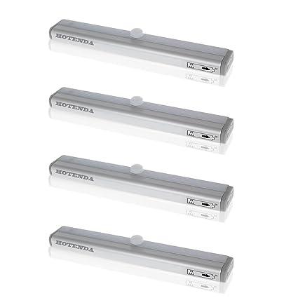 hotenda DIY adhesivo Cualquier armario de LED Iluminación Dispositivo de luz de bajo armario Sensor de
