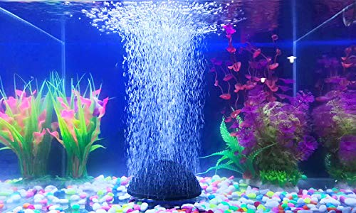 """Pawfly 2.4"""" Air Stone Bubble Mineral Ball Shaped Airstones Diffuser for Aquarium Fish Tank Hydroponics Pump"""