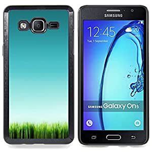 Stuss Case / Funda Carcasa protectora - Hierba Verde Naturaleza Limpia Pura - Samsung Galaxy On5 O5