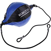 D DOLITY Double Ended Boxing Speed Training Ball Punch Bag with Floor to Ceiling Rope Workout Fitness Yoga Gear
