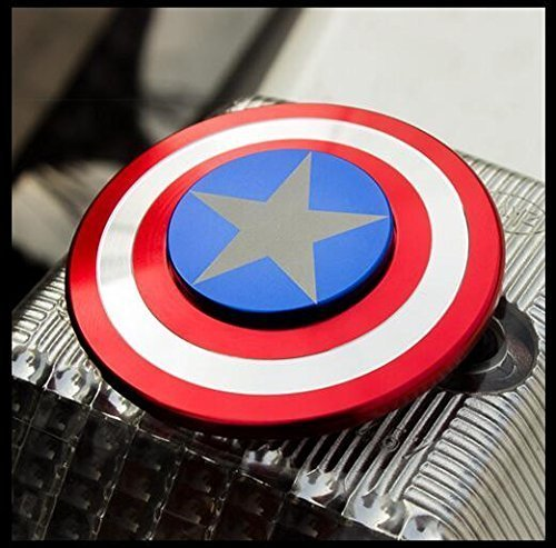 HOCHE Hand Spinner EDC Toy Fidget Top Captain America