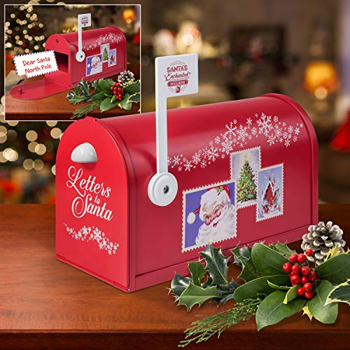 (Mr. Christmas 24061 Santa's Enchanted Mailbox One Size Multicolor)