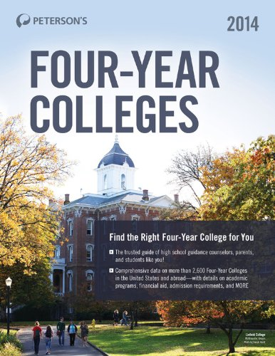 Four-Year Colleges 2014 (Peterson's Four-Year Colleges)