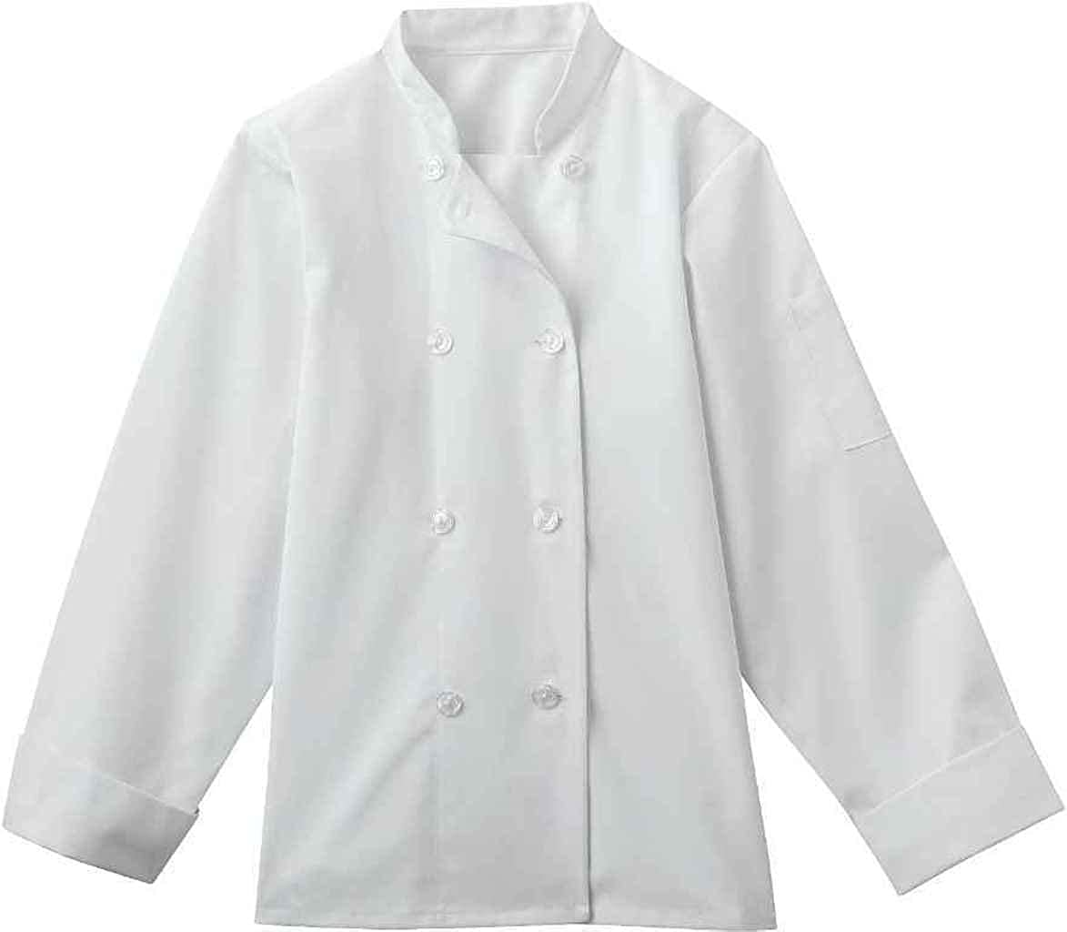 Five Star Chef Apparel 18026 Womens 8-Button Chef Jacket