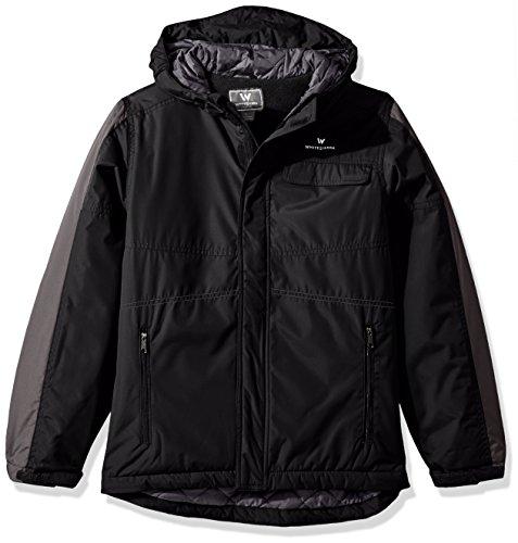 - White Sierra Boys Casper Insulated Jacket, Black, Small