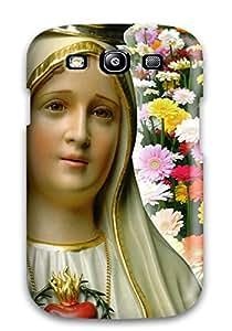 Hot Galaxy S3 Nossa Senhora De Fatima - Portugal Print High Quality Tpu Gel Frame Case Cover