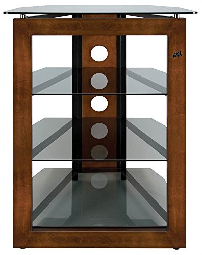 (Bell'O AT306 Bello No Tools Audio/Video Tower Wood-Glass)