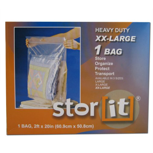 5 Zip Lock Bags XXL Extra large Plastic 24x20 Heavy Duty Clothes Protect Storage (Zip Lock Bags For Clothes)