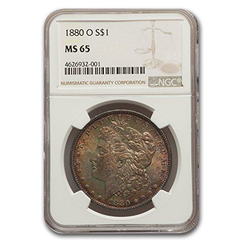 1880 O Morgan Dollar MS-65 NGC $1 MS-65 NGC