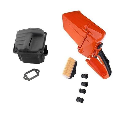 Amazon com: Homyl Muffler Exhaust with Gasket & Rear Handle