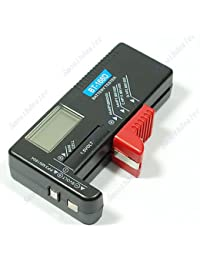 Favor 1 Piece Digital Battery Tester Checker for 1.5V and AA AAA Cell reviews