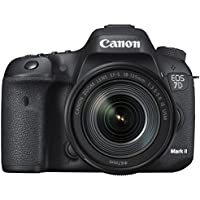 Canon Digital Camera EOS 7D MarkII + Lens Kit EF-S18-135mmF3.5-5.6 ISUSM Wi-Fi Adapter W-E1 EOS7DMK2LKW-E1(Japan Import-No Warranty)