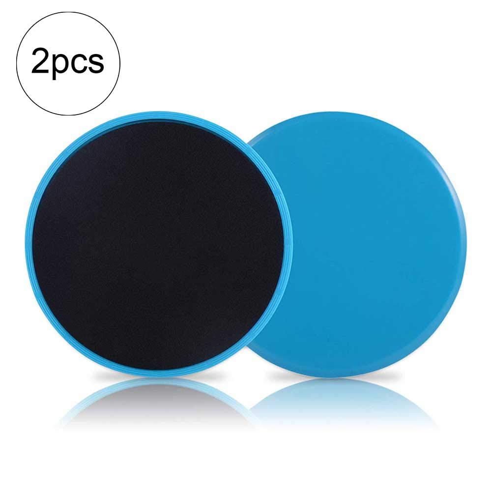 Fitness Core Sliders 2 Pieces Double Sides Exercise Sliders Use On Carpet Or Hardwood Floors Cotowin
