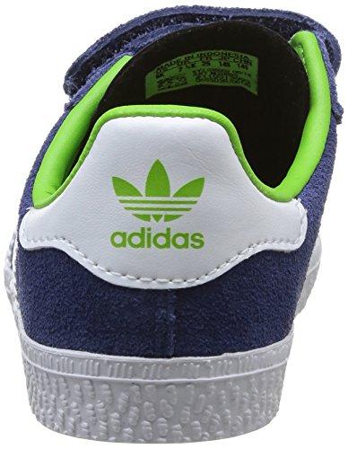 watch 493ae f7612 adidas, Gazelle CF 2 I, Scarpe Per Bambini, Unisex - Bambino, Multicolore  (Dk BlueFTWWHTGoldmt), 22 Amazon.it Scarpe e borse