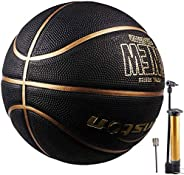 "Senston Basketball 29.5"" Outdoor Indoor Mens Basketball Ball Official Size 7 Composite Basket"