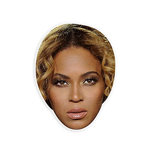 Sad Beyonce Mask - Perfect for Halloween, Masquerade, Parties, Events, Festivals, Concerts - Jumbo Size Waterproof (Halloween Costumes Beyonce)