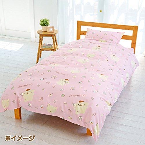 Single Bun Harajuku Wig (Sanrio Pomupomu pudding bed cover 3-piece set single From Japan New)